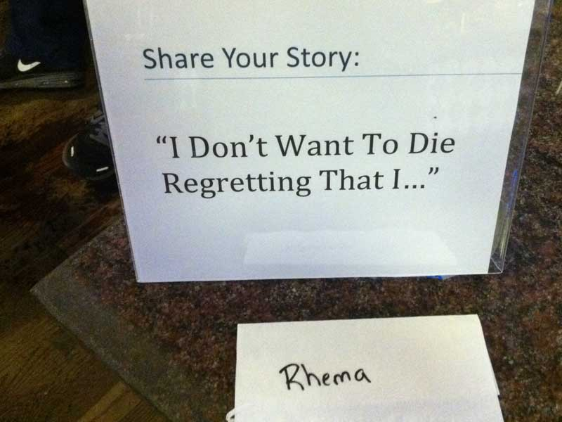 die-regretting-rhema